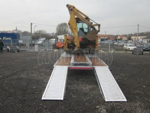 Vzduchem brzděné plato pro převoz traktorů AVG 18T 8,20x2,48 plato č.6