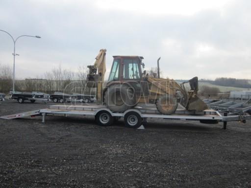 Vzduchem brzděné plato pro převoz traktorů AVG 18T 8,20x2,48 plato č.9