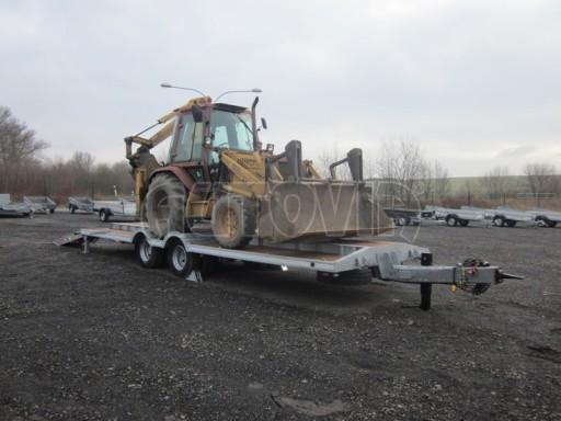 Vzduchem brzděné plato pro převoz traktorů AVG 18T 8,20x2,48 plato č.10