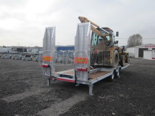 Vzduchem brzděné plato pro převoz traktorů AVG 18T 8,20x2,48 plato č.11