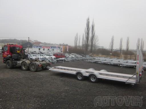 Vzduchem brzděné plato pro převoz traktorů AVG 18T 8,20x2,48 plato č.13