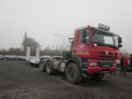Vzduchem brzděné plato pro převoz traktorů AVG 18T 8,20x2,48 plato č.7