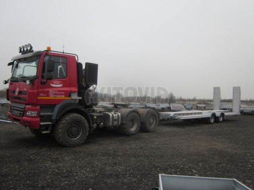 Vzduchem brzděné plato pro převoz traktorů AVG 18T 8,20x2,48 plato č.4