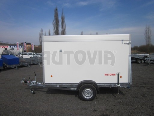 Skříňový vozík s hliníkovým víkem ZV 31 1,3T B1 O 3,01x1,54/1,67* č.4