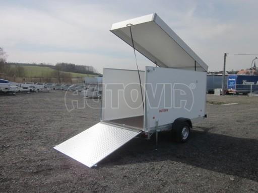 Skříňový vozík s hliníkovým víkem ZV 31 1,3T B1 O 3,01x1,54/1,67* č.1