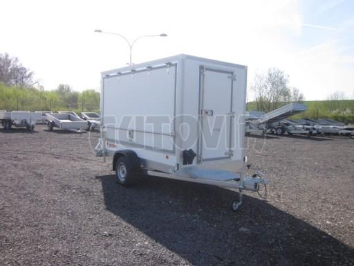 Skříňový přívěs za osobní auto ZV 31 750kg N1 3,01x1,55/1,80** č.6