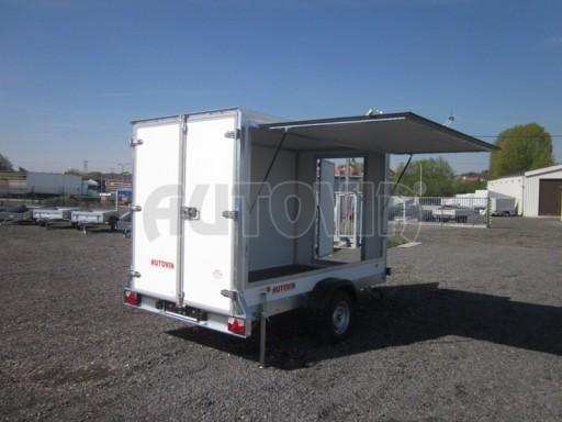 Skříňový přívěs za osobní auto ZV 31 750kg N1 3,01x1,55/1,80** č.8