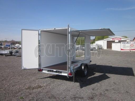 Skříňový přívěs za osobní auto ZV 31 750kg N1 3,01x1,55/1,80** č.1