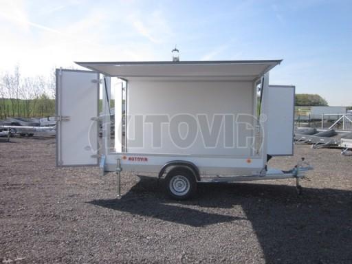 Skříňový přívěs za osobní auto ZV 31 750kg N1 3,01x1,55/1,80** č.10