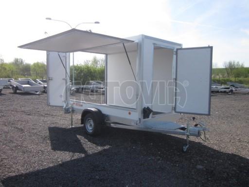 Skříňový přívěs za osobní auto ZV 31 750kg N1 3,01x1,55/1,80** č.11