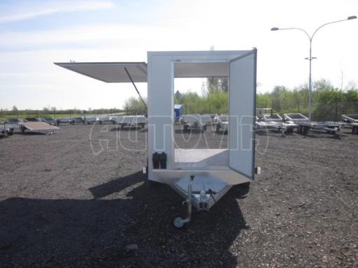 Skříňový přívěs za osobní auto ZV 31 750kg N1 3,01x1,55/1,80** č.12