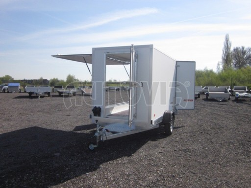 Skříňový přívěs za osobní auto ZV 31 750kg N1 3,01x1,55/1,80** č.13