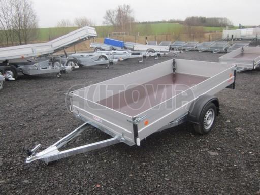 Přívěsný vozík za osobní auto ZV 30 ALU 750kg N1 3,00x1,31/0,35** č.2