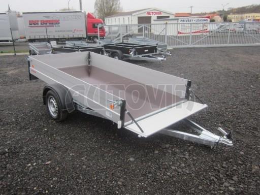 Přívěsný vozík za osobní auto ZV 30 ALU 750kg N1 3,00x1,31/0,35** č.1