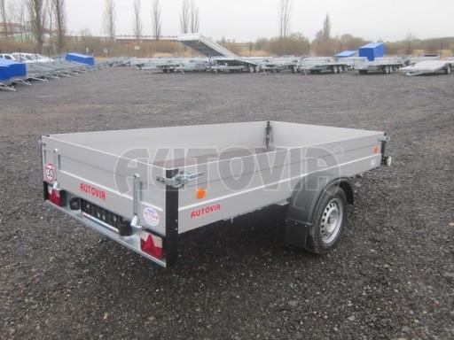 Přívěsný vozík za osobní auto ZV 30 ALU 750kg N1 3,00x1,31/0,35** č.3