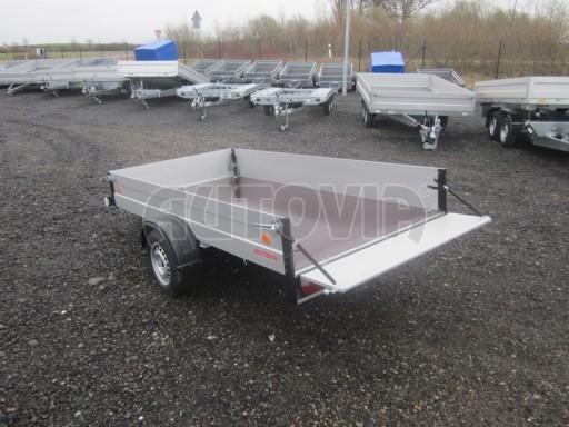 Přívěsný vozík za osobní auto ZV 30 ALU 750kg N1 3,00x1,31/0,35** č.4