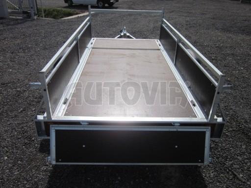 Nebrzděný jednoosý přívěs VA 750kg 2,52x1,27/0,30 RE POČ č.7
