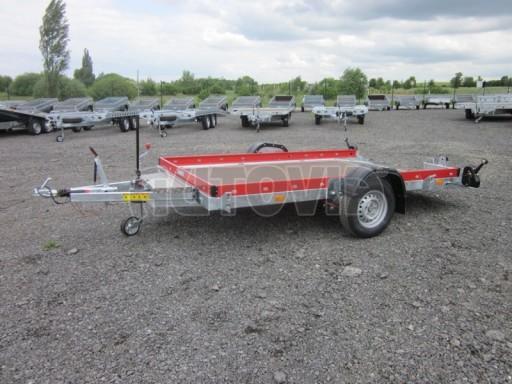 Hydraulicky sklopný přepravník HS 1,35T AL red 3,02x1,72/0,10* č.6