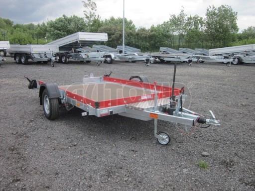 Hydraulicky sklopný přepravník HS 1,35T AL red 3,02x1,72/0,10* č.8
