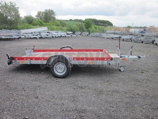 Hydraulicky sklopný přepravník HS 1,35T AL red 3,02x1,72/0,10* č.9