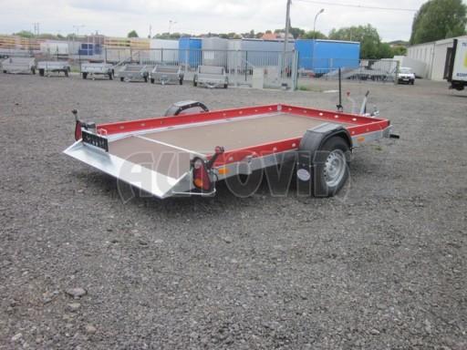 Hydraulicky sklopný přepravník HS 1,35T AL red 3,02x1,72/0,10* č.10