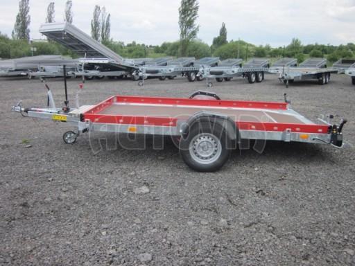 Hydraulicky sklopný přepravník HS 1,35T AL red 3,02x1,72/0,10* č.13