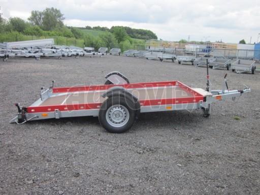 Hydraulicky sklopný přepravník HS 1,35T AL red 3,02x1,72/0,10* č.16