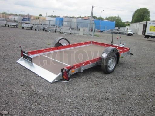 Hydraulicky sklopný přepravník HS 1,35T AL red 3,02x1,72/0,10* č.7