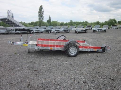 Hydraulicky sklopný přepravník HS 1,35T AL red 3,02x1,72/0,10* č.18