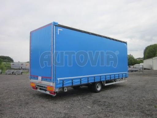 Jednonápravový vzduchem brzděný, nákladní přívěs AVG 5,45T 7,40x2,48/3,05 č.4