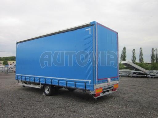 Jednonápravový vzduchem brzděný, nákladní přívěs AVG 5,45T 7,40x2,48/3,05 č.6