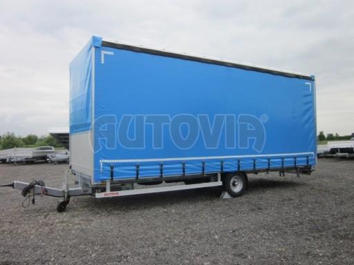 Jednonápravový vzduchem brzděný, nákladní přívěs AVG 5,45T 7,40x2,48/3,05 č.8