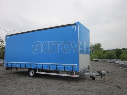 Jednonápravový vzduchem brzděný, nákladní přívěs AVG 5,45T 7,40x2,48/3,05 č.16