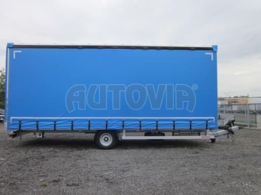 Jednonápravový vzduchem brzděný, nákladní přívěs AVG 5,45T 7,40x2,48/3,05 č.17