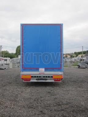 Jednonápravový vzduchem brzděný, nákladní přívěs AVG 5,45T 7,40x2,48/3,05 č.19