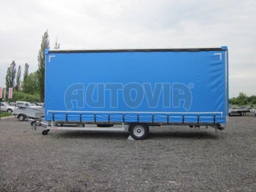 Jednonápravový vzduchem brzděný, nákladní přívěs AVG 5,45T 7,40x2,48/3,05 č.21