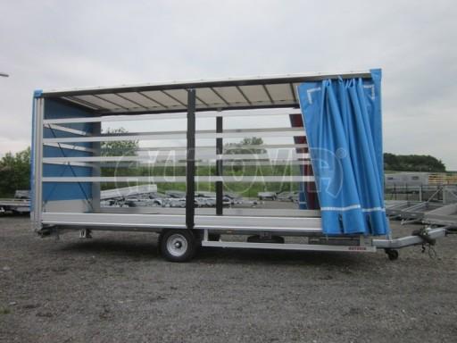 Jednonápravový vzduchem brzděný, nákladní přívěs AVG 5,45T 7,40x2,48/3,05 č.23