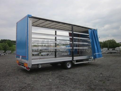 Jednonápravový vzduchem brzděný, nákladní přívěs AVG 5,45T 7,40x2,48/3,05 č.24