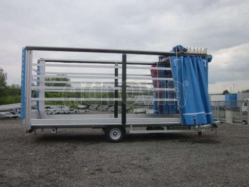Jednonápravový vzduchem brzděný, nákladní přívěs AVG 5,45T 7,40x2,48/3,05 č.29