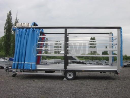 Jednonápravový vzduchem brzděný, nákladní přívěs AVG 5,45T 7,40x2,48/3,05 č.31
