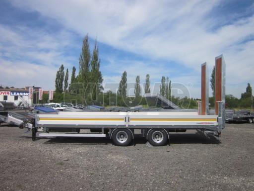 Vzduchem brzděný tandemový přepravník AVG 18T 7,50x2,48/0,40 č.2