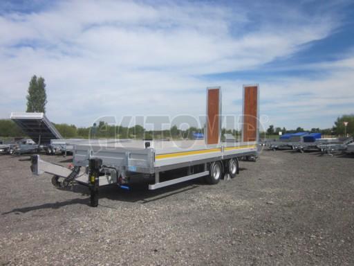 Vzduchem brzděný tandemový přepravník AVG 18T 7,50x2,48/0,40 č.1