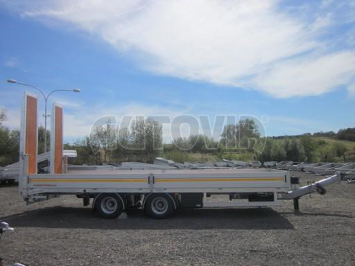 Vzduchem brzděný tandemový přepravník AVG 18T 7,50x2,48/0,40 č.4