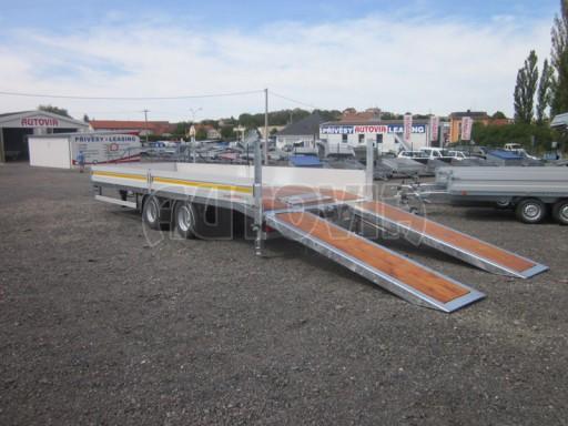 Vzduchem brzděný tandemový přepravník AVG 18T 7,50x2,48/0,40 č.6