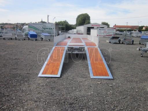 Vzduchem brzděný tandemový přepravník AVG 18T 7,50x2,48/0,40 č.7
