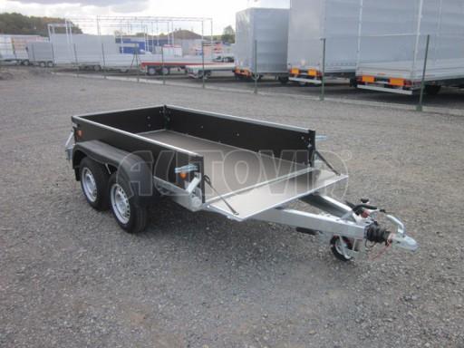 Přívěsný vozík za osobní auto ZV 26 2,0T B2 2,50x1,24/0,35 POČ* č.1
