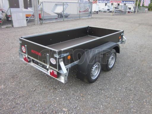 Přívěsný vozík za osobní auto ZV 26 2,0T B2 2,50x1,24/0,35 POČ* č.10