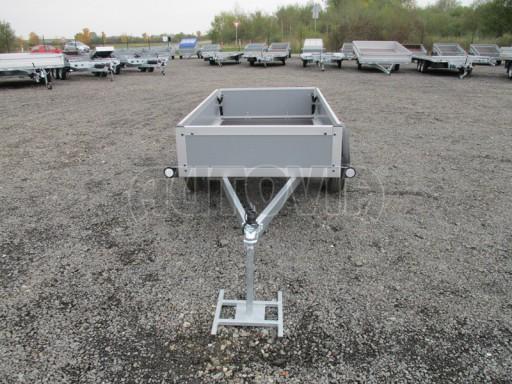 Levný přívěsný vozík s překližkovými bočnicemi ZV 3 EX 2,06x1,10/0,35** č.2