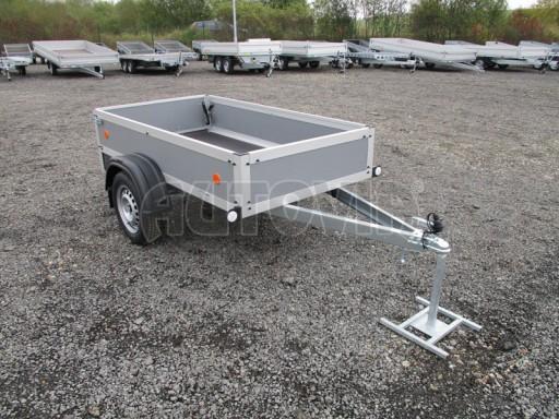 Levný přívěsný vozík s překližkovými bočnicemi ZV 3 EX 2,06x1,10/0,35** č.8