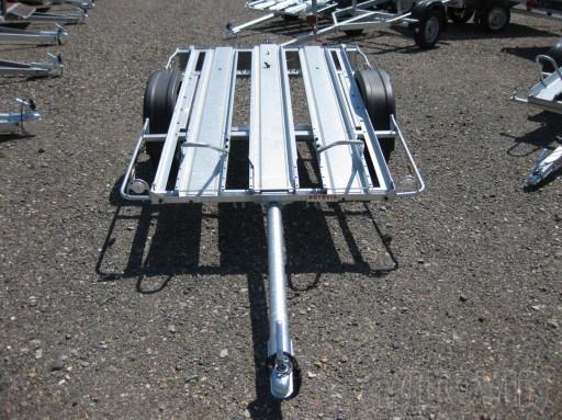 Jednoosý nebrzděný přívěs pro převoz čtyřkolek MOTO 750/2,06/1,09** č.1